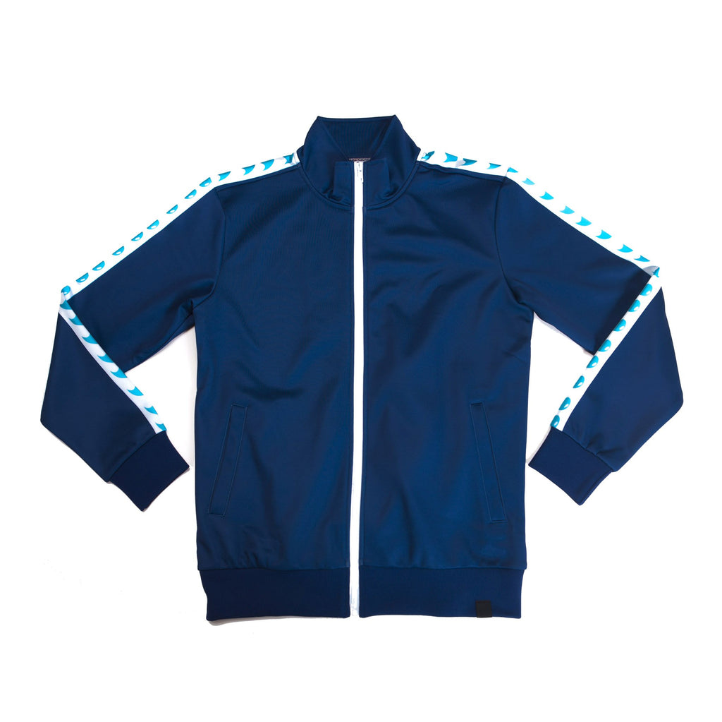 """SURF BLUE"" GO track jacket"