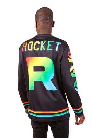 """ROCKET PRIDE"" jersey model 1 back"