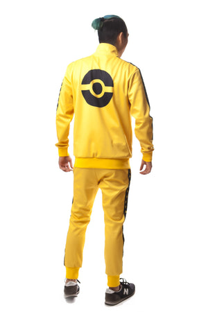"""VOLT YELLOW"" GO track jacket male"