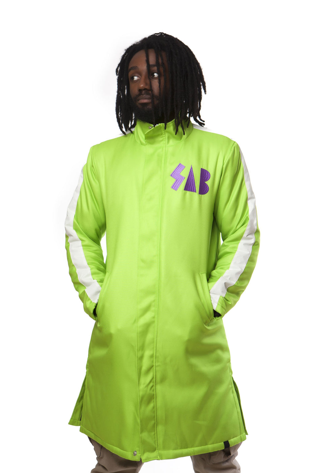 """SAB"" jacket green male"