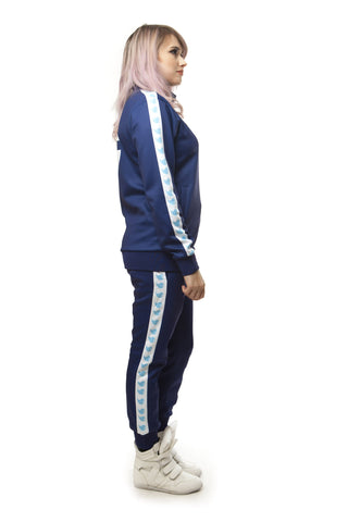"""SURF BLUE"" GO track jacket female"