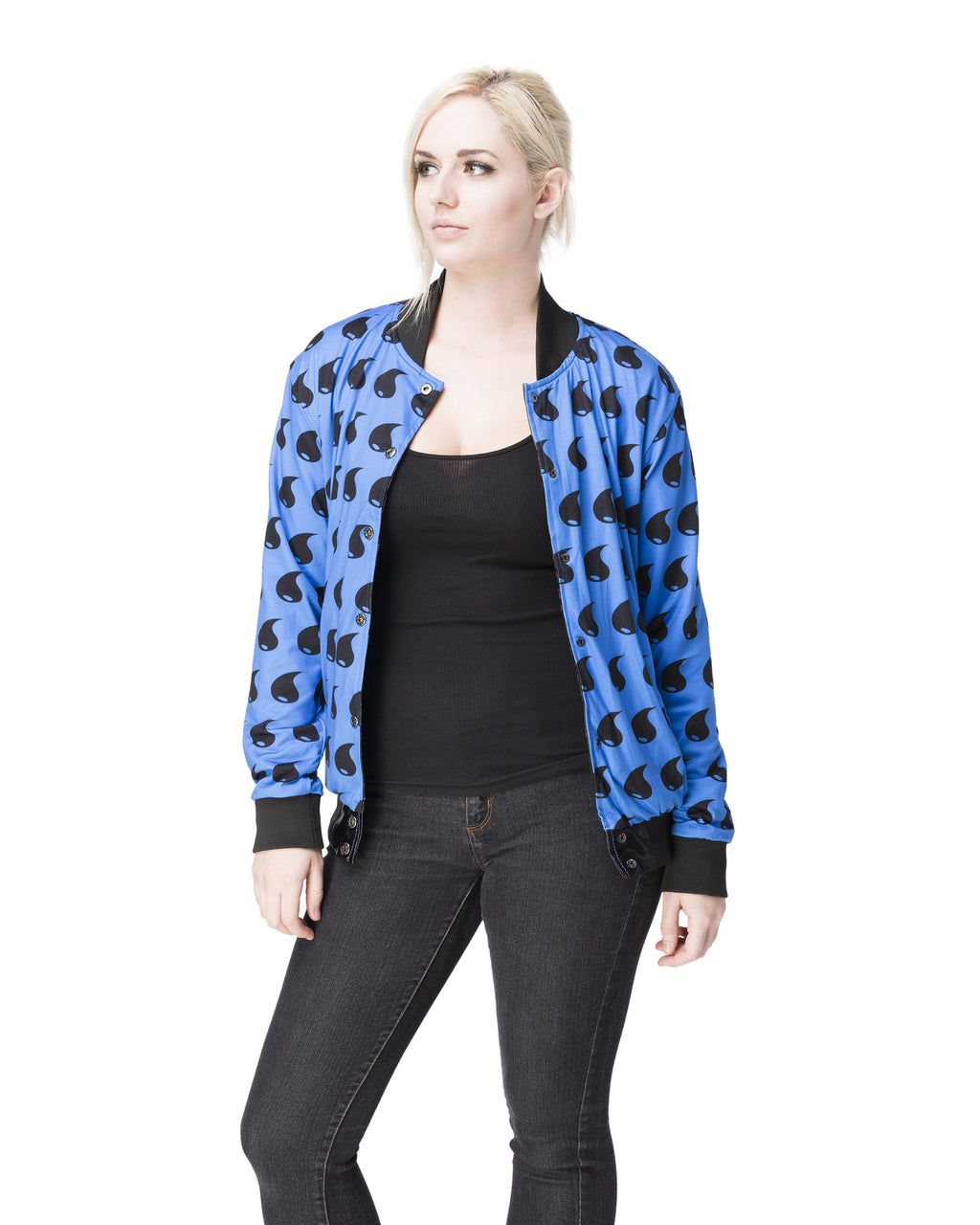 """BLIZZARD"" energy jacket female reverse"
