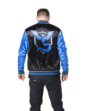 """BLIZZARD"" energy jacket male back"