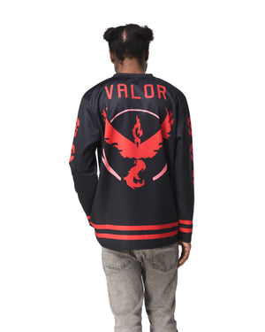 """VALOR"" jersey male back"