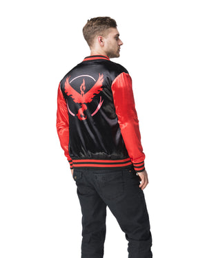 """FIRE BLAST"" energy jacket male back"