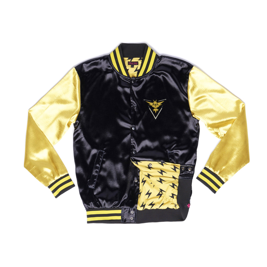 """THUNDER"" energy jacket front"