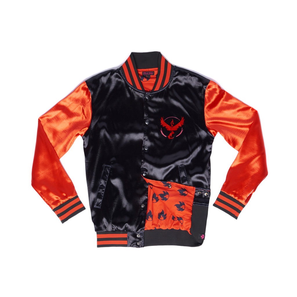 """FIRE BLAST"" energy jacket front"