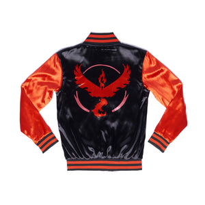 """FIRE BLAST"" energy jacket back"