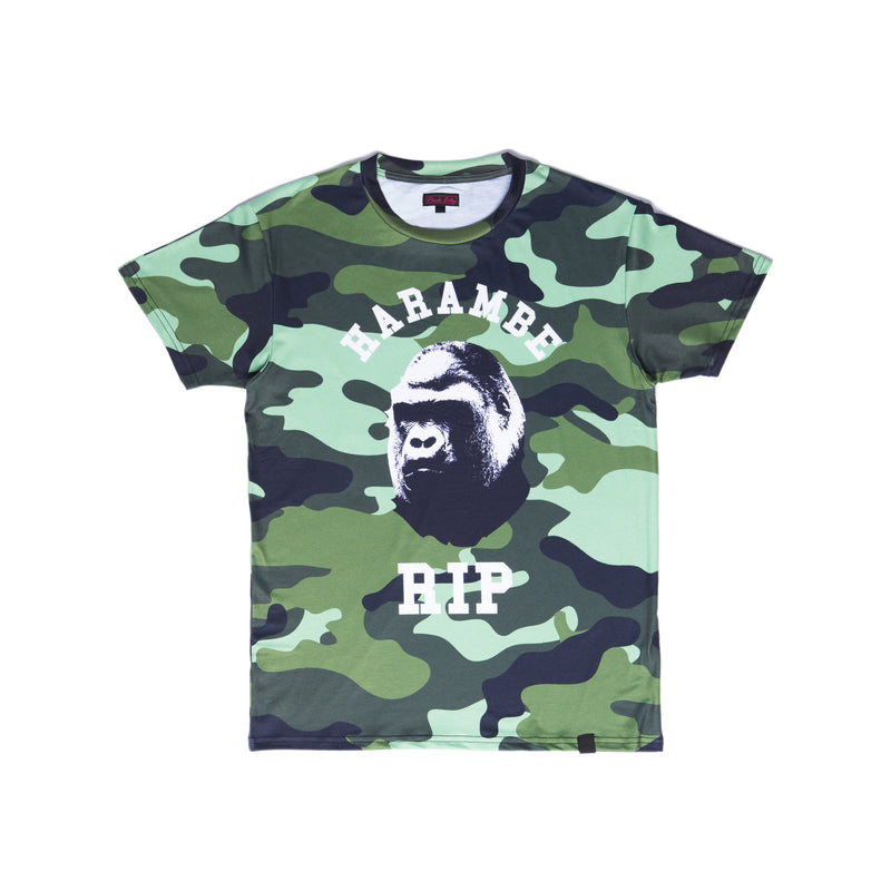 """HARAMBAPE"" tee male back"