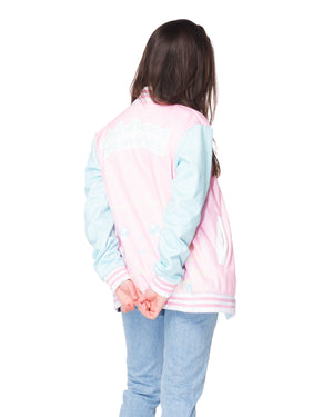 """CRYBABY"" cozy jacket female 1 back"