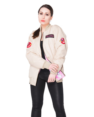 """MAJIN BUSTER"" flight bomber female front"