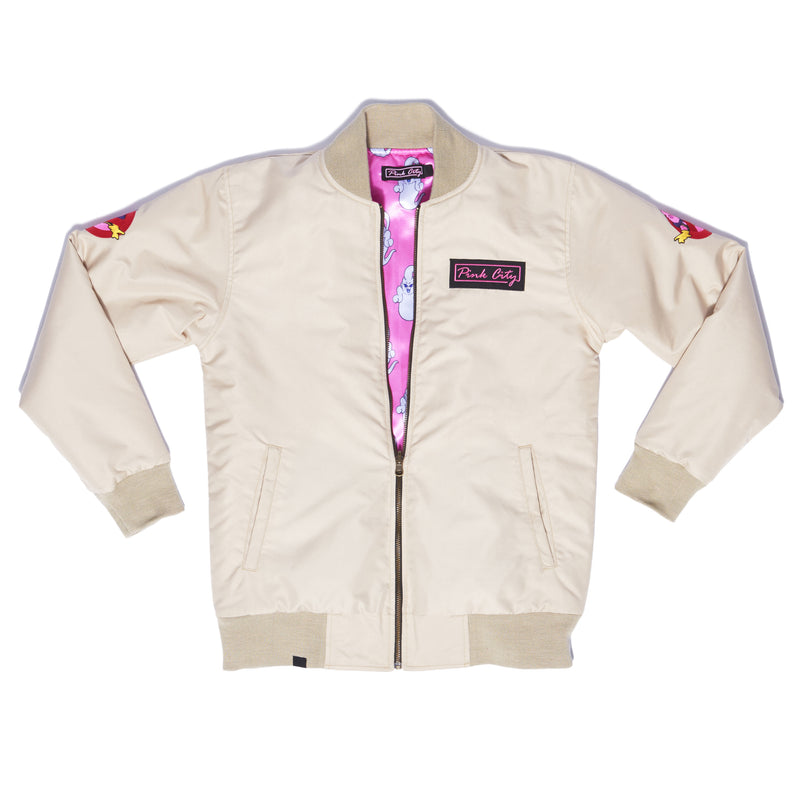 """MAJIN BUSTER"" flight bomber male front"
