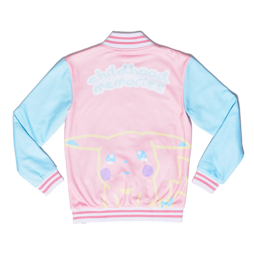 """CRYBABY"" cozy jacket back"