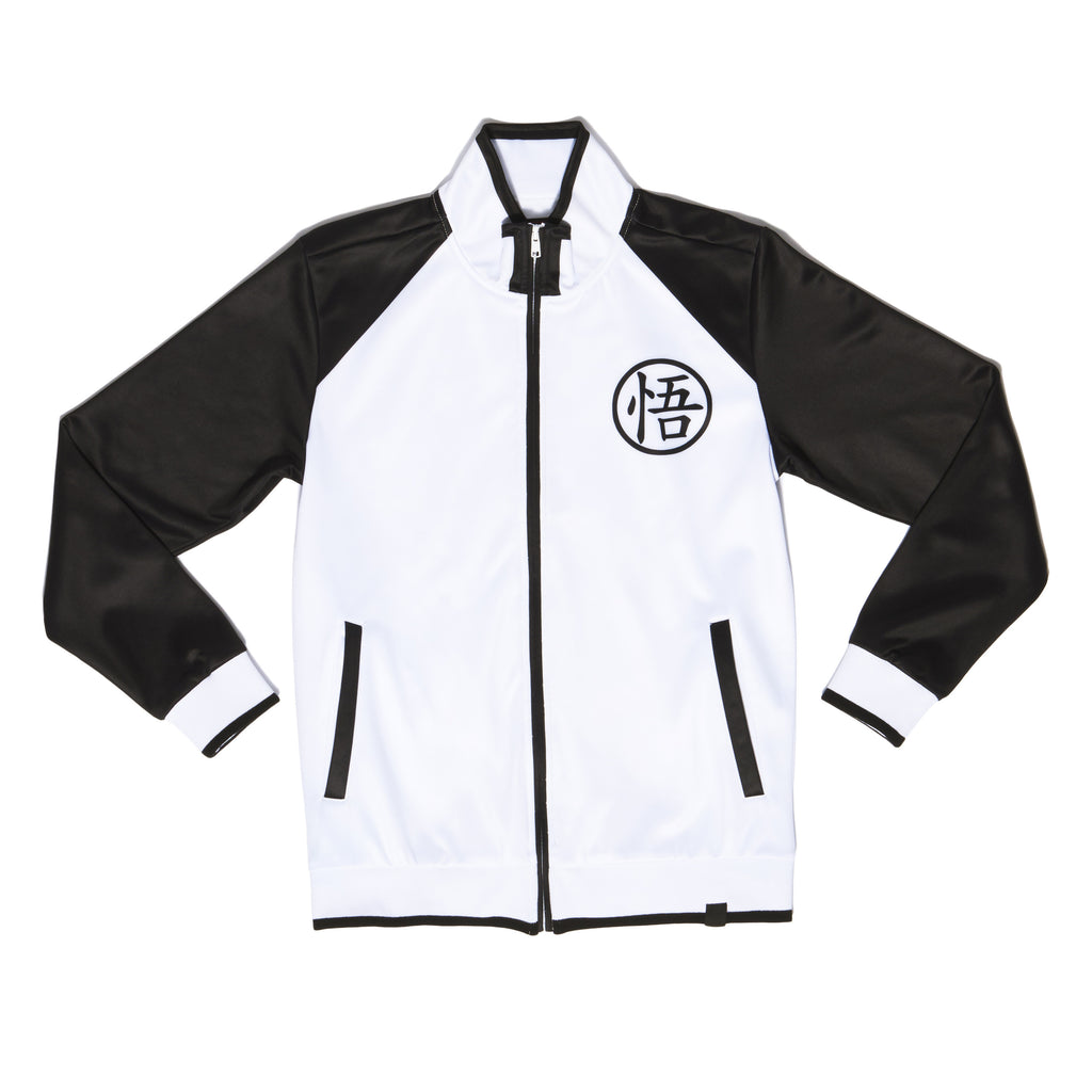 """LIMIT BREAKER"" track jacket black front"