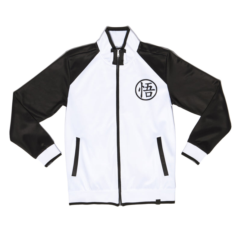 """LIMIT BREAKER"" track jacket black female back"