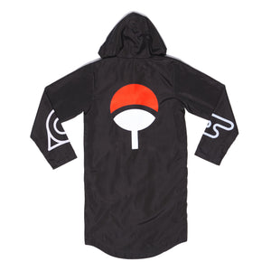 """AKATSUKI"" rain coat back"