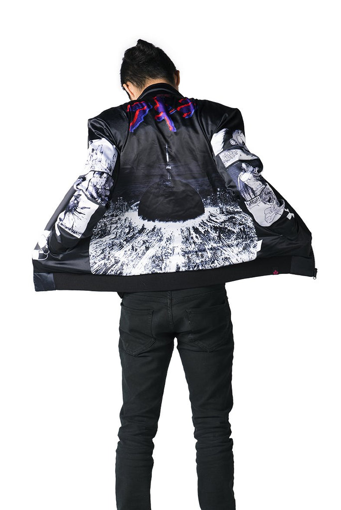 """NEO T.O."" jacket black male reversed 1"