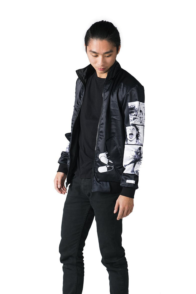 """NEO T.O."" jacket black male reversed 2"