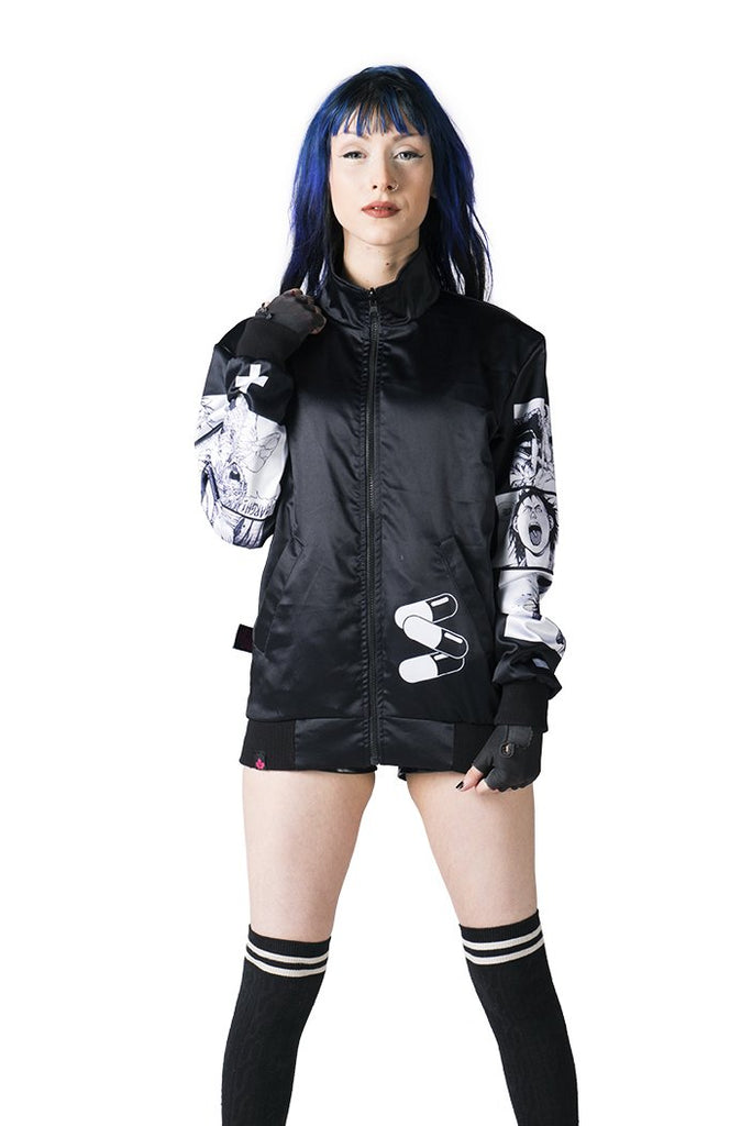 """NEO T.O."" jacket black female reversed 3"