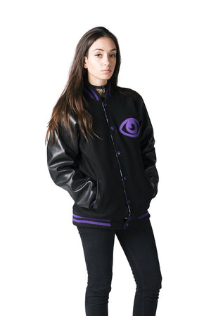 """DREAM EATER"" varsity jacket female 1"