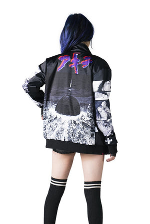 """NEO T.O."" jacket black female reversed 2"
