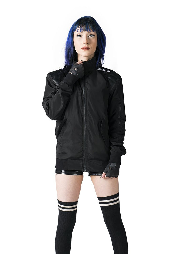 """NEO T.O."" jacket black female 2"
