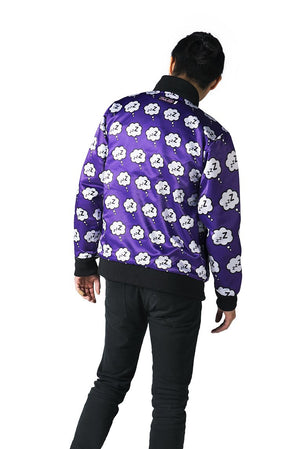"""DREAM EATER"" varsity jacket male reversed 2"