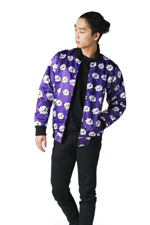 """DREAM EATER"" varsity jacket male reversed 1"