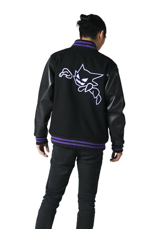 """DREAM EATER"" varsity jacket male 2"