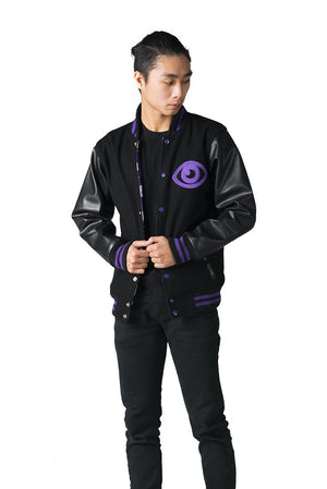 """DREAM EATER"" varsity jacket male 1"