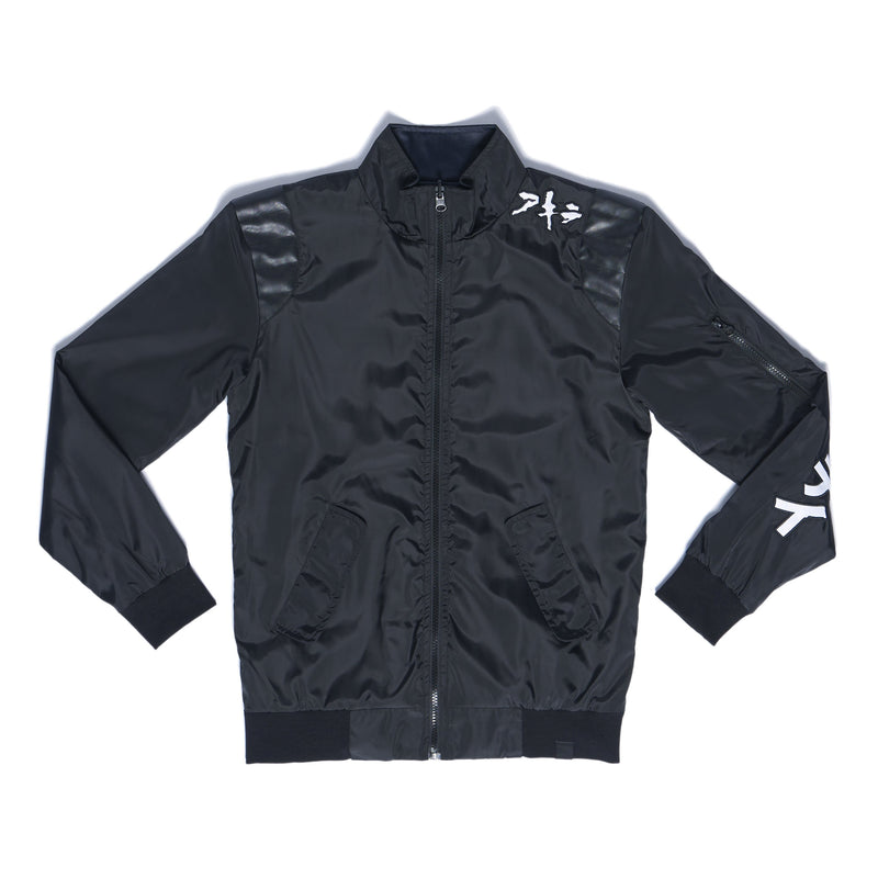 """NEO T.O."" reversible jacket (black)"