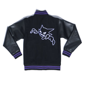"""DREAM EATER"" varsity jacket back"