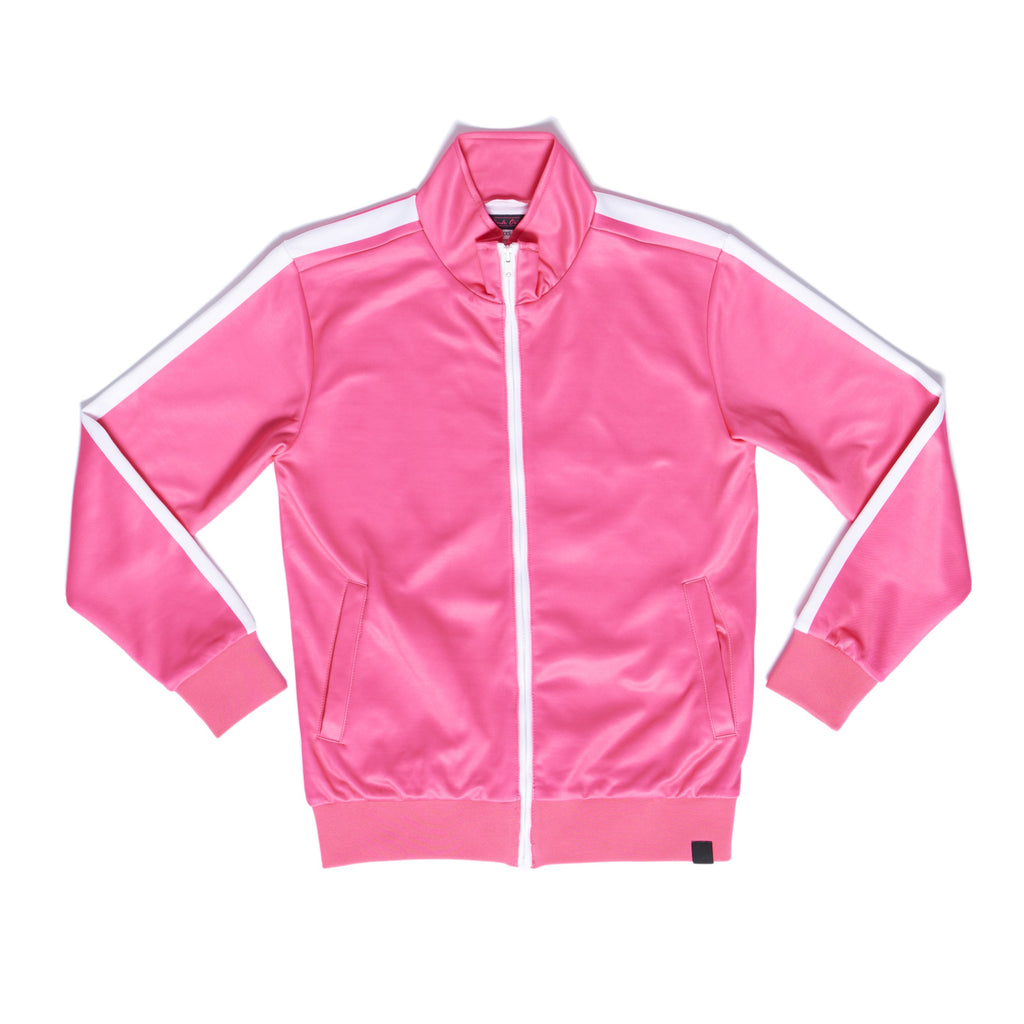 """EIGHTEEN"" track jacket front"