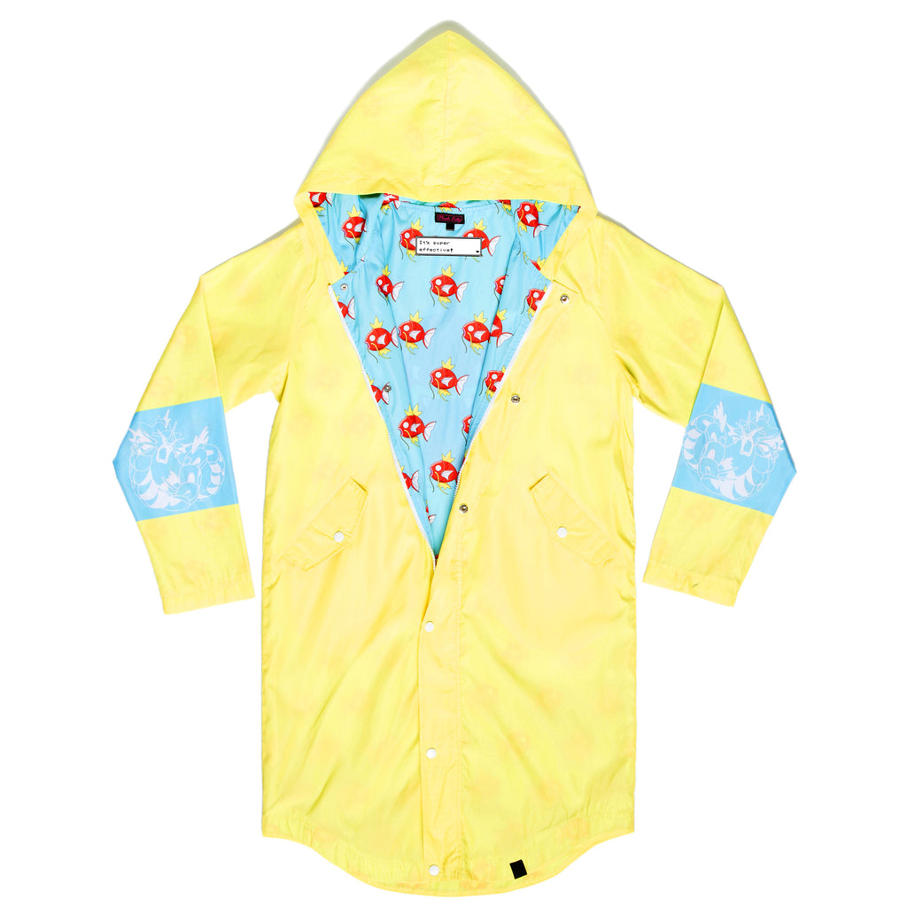 """HYDRO PUMP"" trainer coat front yellow"