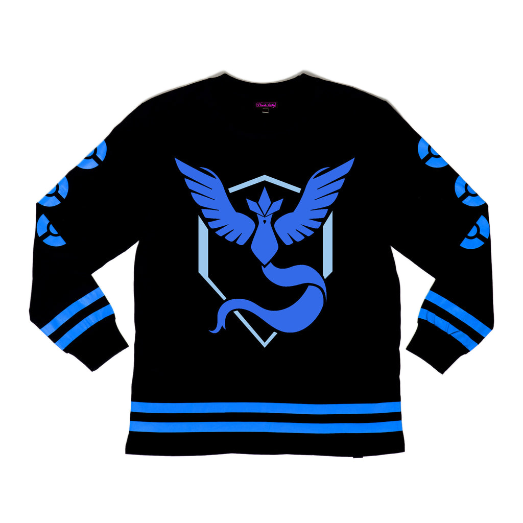 """MYSTIC"" jersey front"