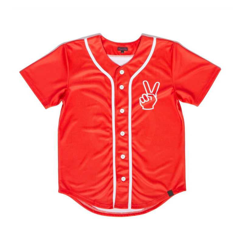 """PEACEKEEPER"" baseball jersey back"