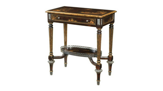 Antique style side tables can bring character to your home