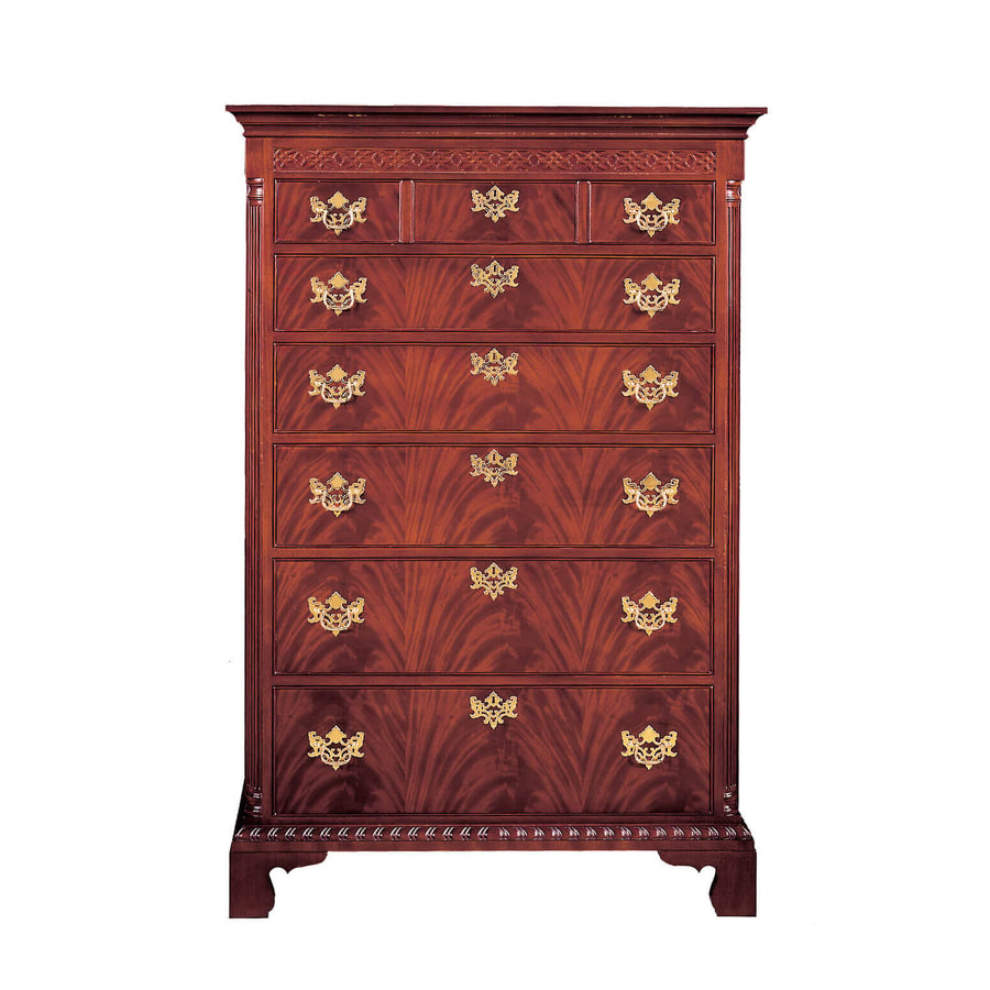 Tall Chippendale Chest