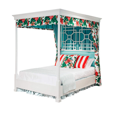 Draper Carlyle Canopy Bed, Cal King