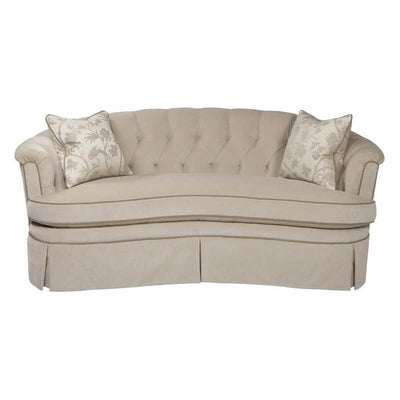19th Century Style Curved Back Sofa
