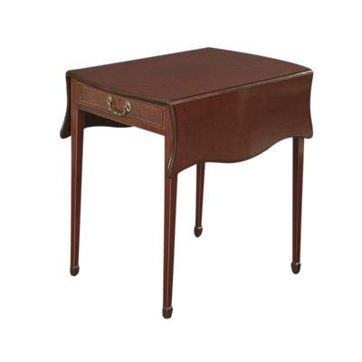 George III (Hepplewhite) Mahogany Pembroke Table