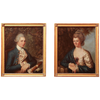 Pair of 18th Century Portrait Paintings