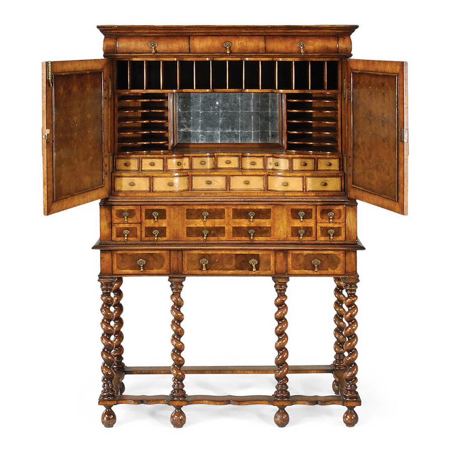 William and Mary Secrétaire Cabinet