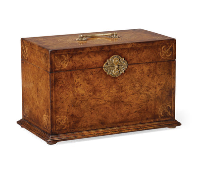 Elegant Queen Anne Jewelry Box