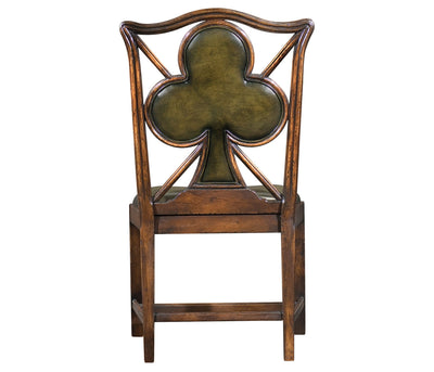 "English Walnut ""Clubs"" Sidechair"
