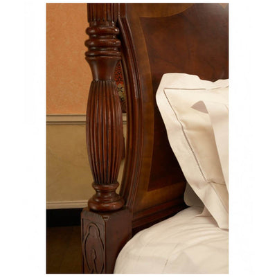 Chippendale Mahogany Four Post Bed