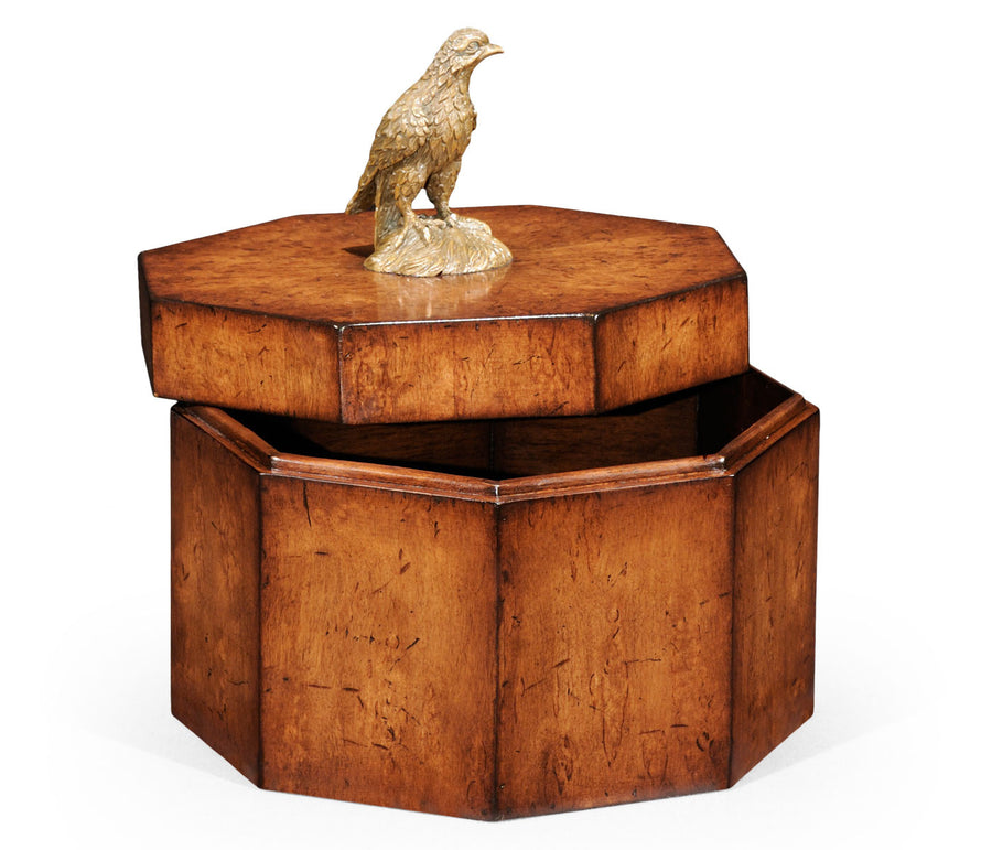 Walnut Octagonal Box