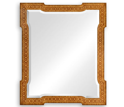 French Marquetry Mirror