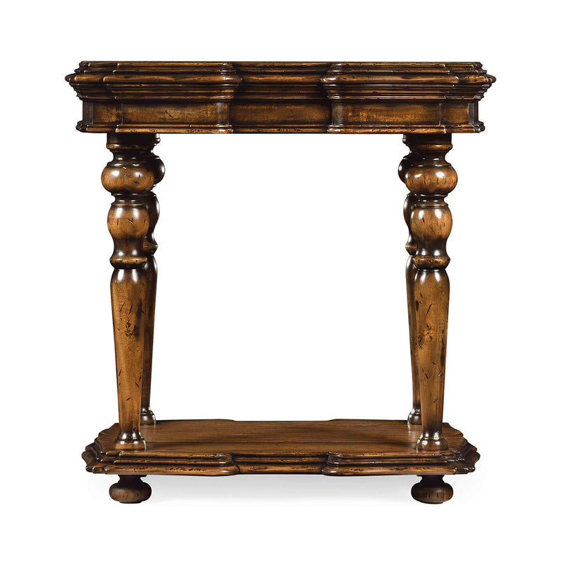 Flemish Walnut Side Table
