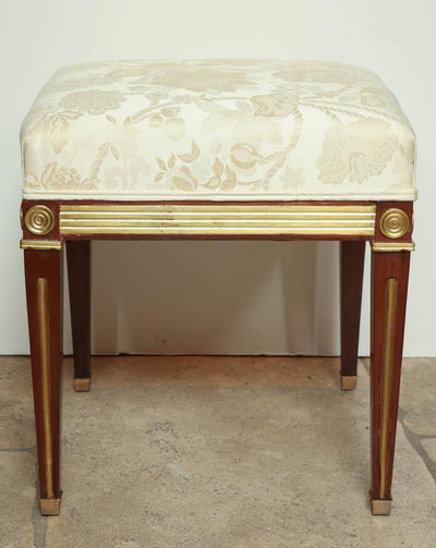Pair of Russian Neoclassic Stools